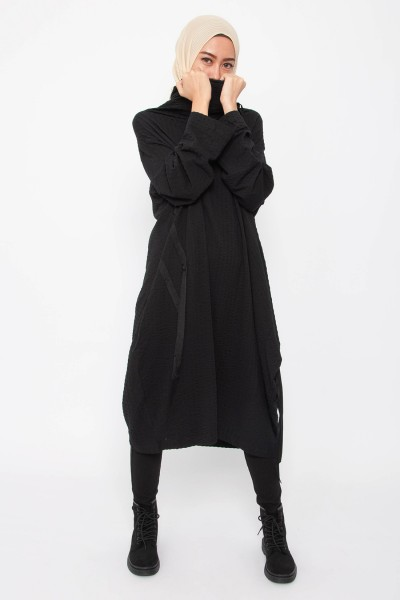 Oaklynn Cowl Neck Dress