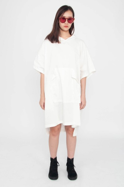 Ciena Pocket Hoodie Dress