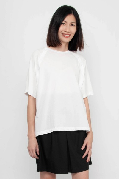 Sophea Raglan High-Low Top