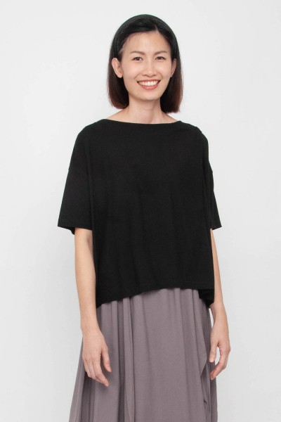 Shealyn Shoulder Self-Tie Top