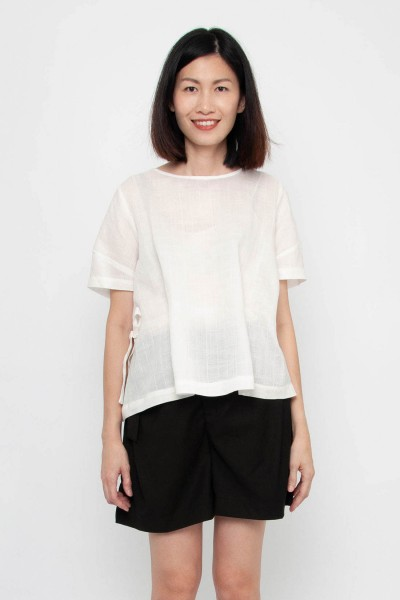 Abigail Hemp Blouse