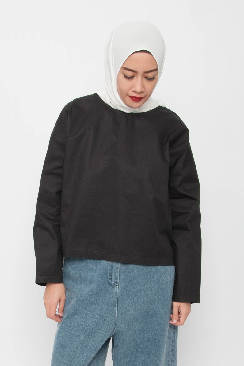 Cali High-Low Oversized Top