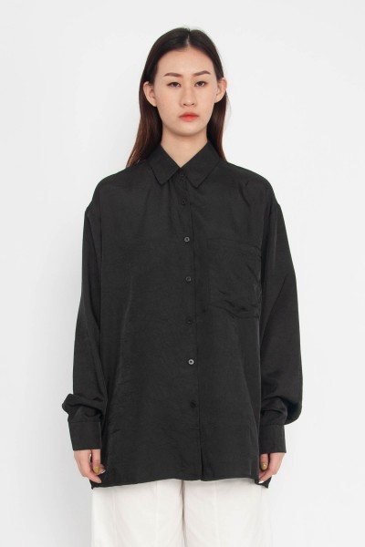 Kera Wrinkle-Textured Shirt
