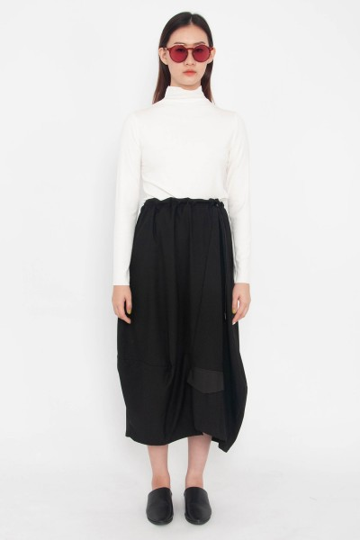 Helen Drawstring Toggle Skirt