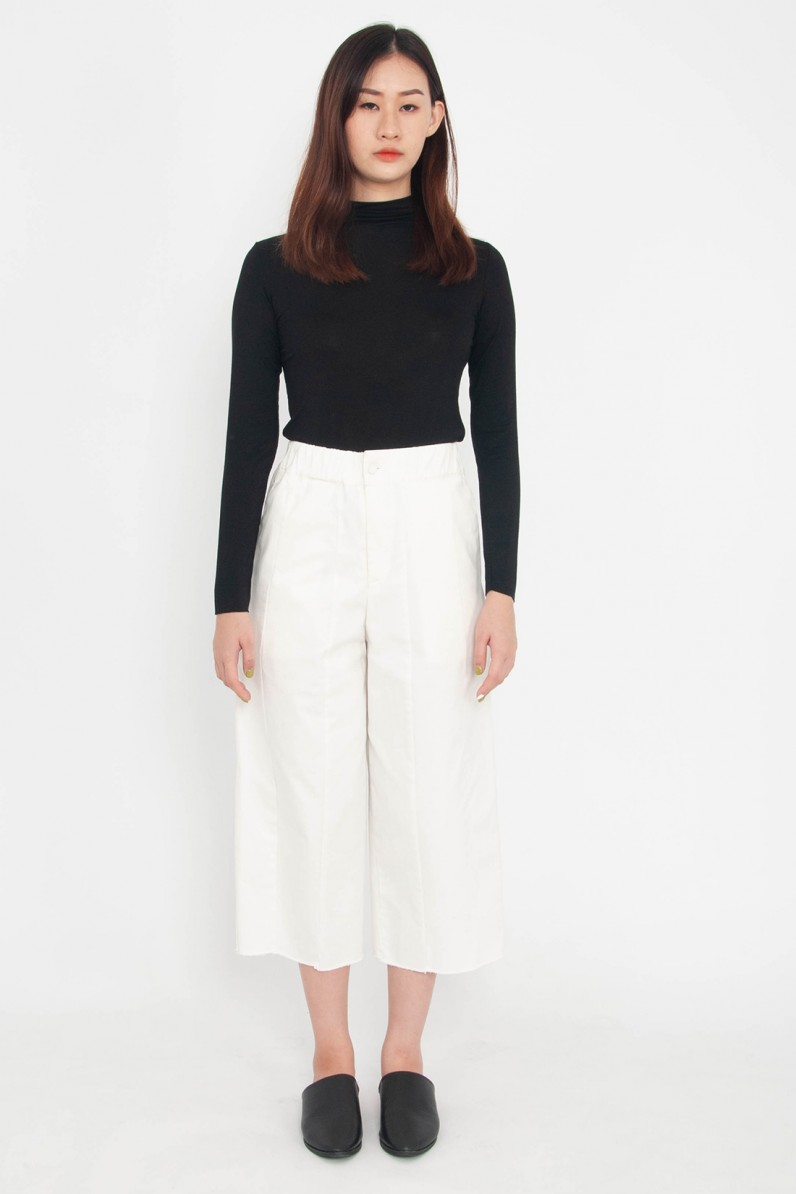 Celeste Cropped Straight Pants