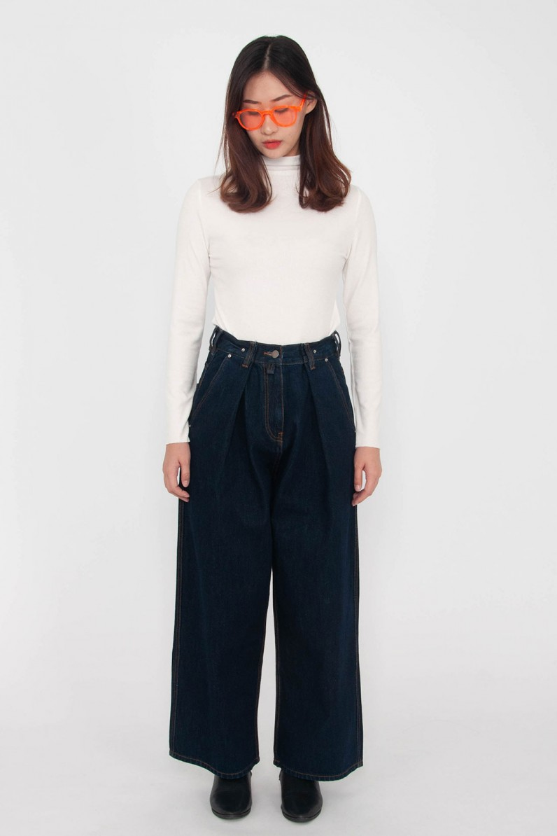 Clarice Pleated Jeans