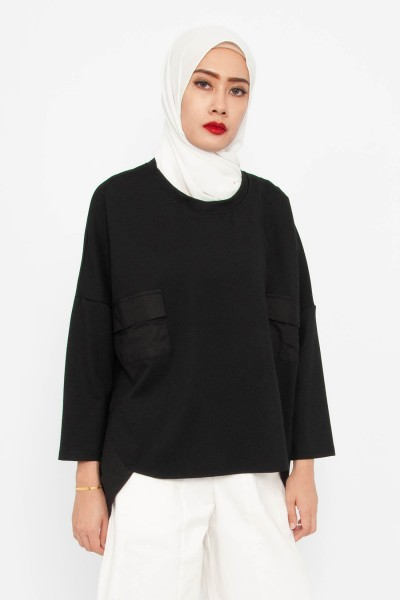 Yuni High-low Pocket Top
